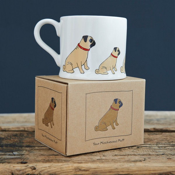 Sweet Williams Tasse - Mops