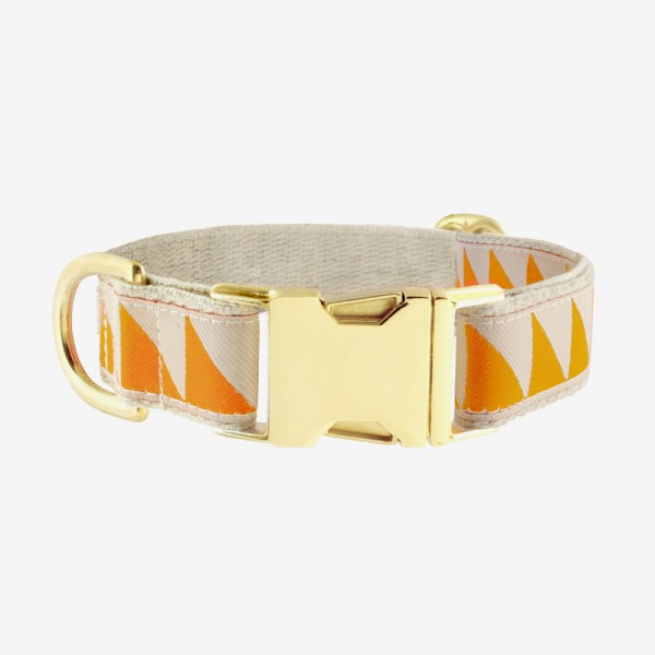 See Scout Sleep Halsband Nice Grill Tangerine & Cream 2,5cm