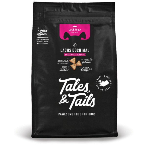 Tales and Tails - Icebarks 'Lachs doch mal!'