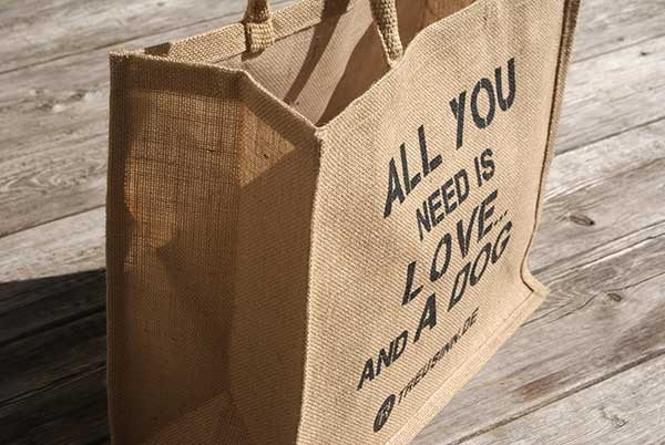 "Treusinn Eco Shopper Jute ""All you need"""