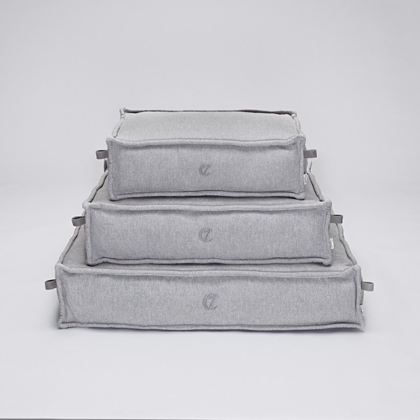 Cloud7 Hundekissen Cozy Light Grey