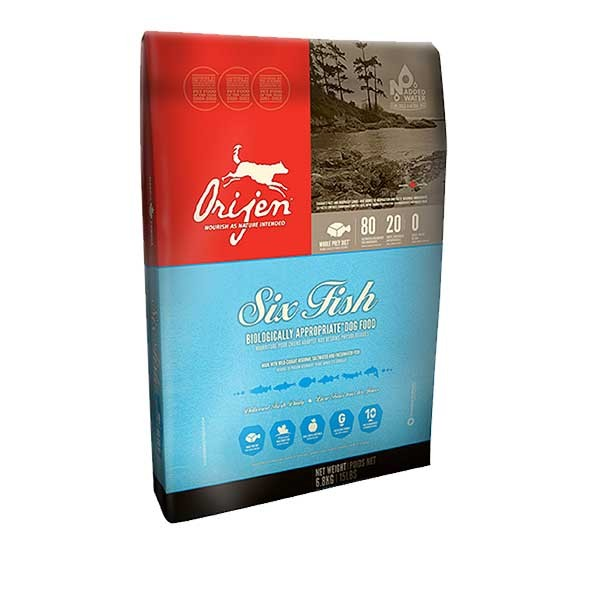 Orijen Trockenfutter Adult Dog 6 Fish