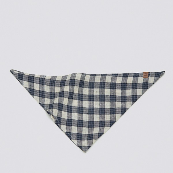 Cloud7 Bandana Check Dark Blue-Beige