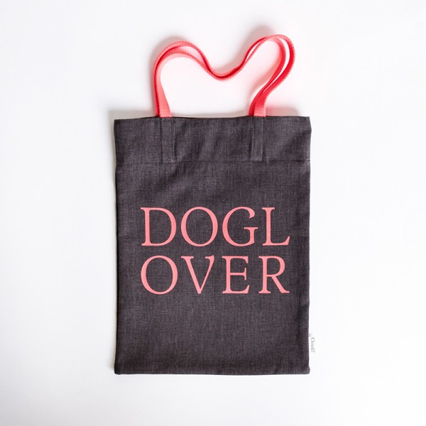 Cloud7 Shopper Neon DOG LOVER 2 Mocca S