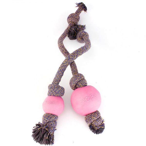 BEcothings Becoball mit Seil, Pink
