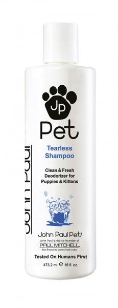 John Paul Pets Tearless Puppy & Kitten Shampoo