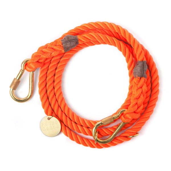 Found my animal Verstellleine Rope Orange