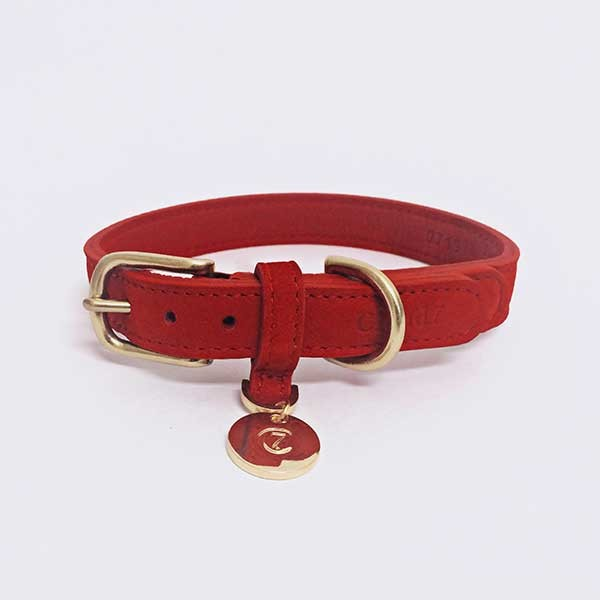 Cloud7 Halsband Tiergarten Cherry-red
