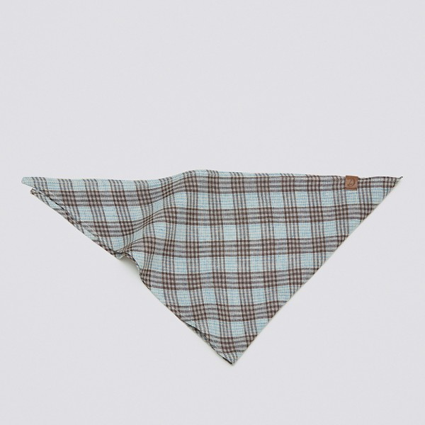 Cloud7 Bandana Check Brown-Cyan