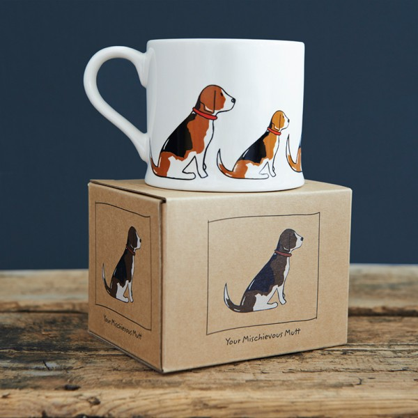 Sweet Williams Tasse - Beagle