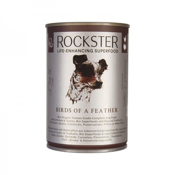 Rockster Nassfutter Huhn/Pute 'birds of a feather'