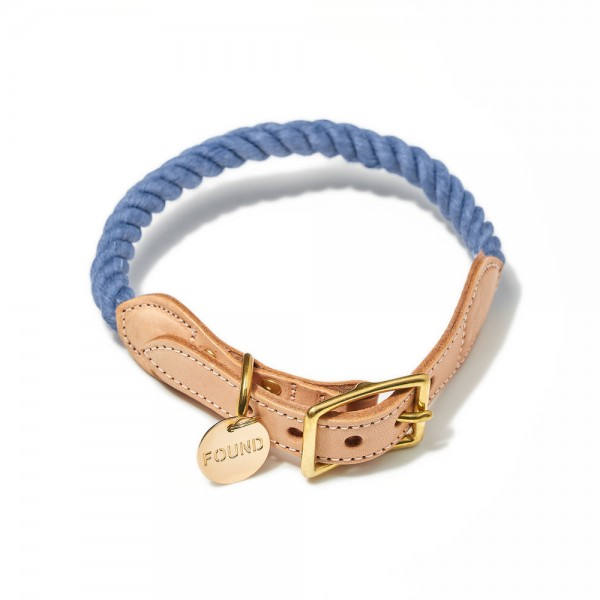 Found my animal Halsband Rope Blue Jean up-cycled