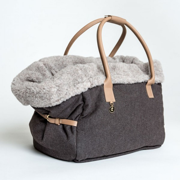 Cloud7 Hundetasche City Carrier Heather brown