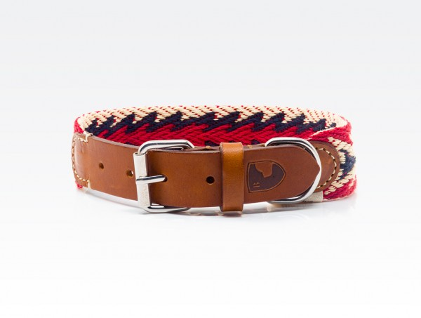 Buddys Halsband Peruvian Arrow Red