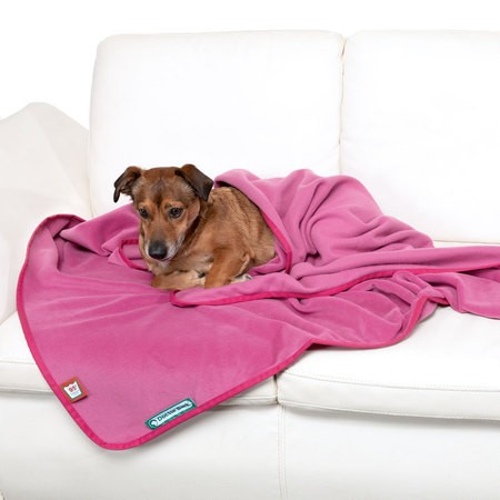 Doctor Bark Kuscheldecke Fleece Hot Pink