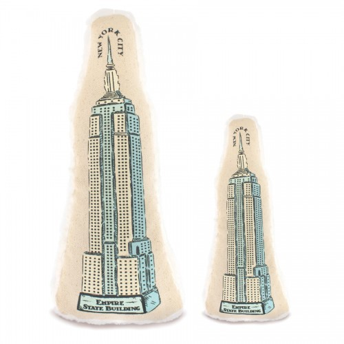 Empire State Building Toy Blue